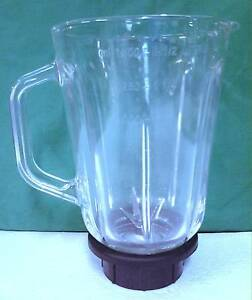 Brand New 1.5L Glass Jug with Stainless Steel Mixing Blades for S Thornleigh Hornsby Area Preview