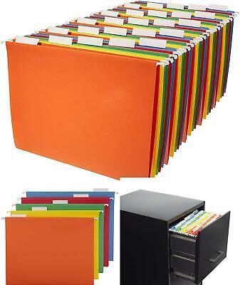 Hanging File Folders Letter Sizecolors 25-pack Folder Hanger Organizer Cabinet