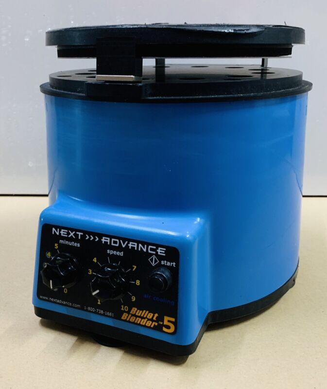 Next Advance Bullet Blender Blue 5 Bead Tissue Homogenizer BBX5MB
