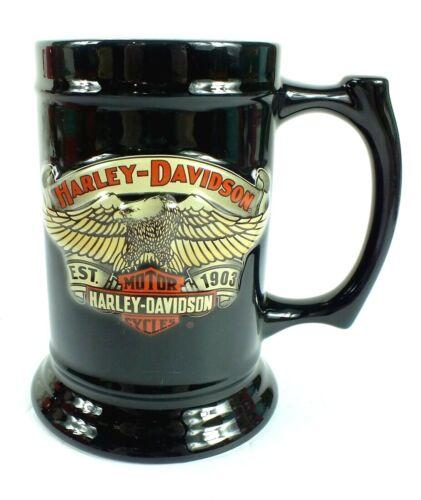 2004 HARLEY DAVIDSON Black MUG STEIN