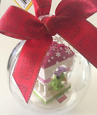 *NEW* Lego FRIENDS GREEN BIRD PARROT Birdhouse Hanging CHRISTMAS ORNAMENT  ()