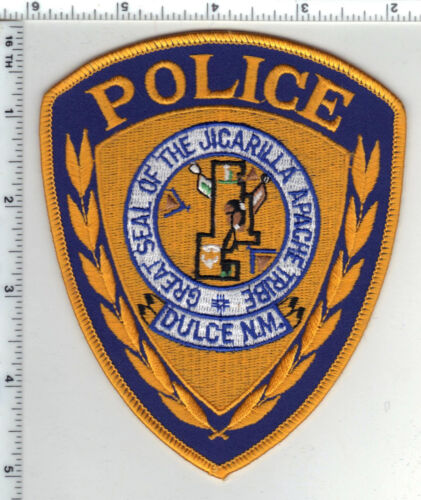 Jicarilla Apache Tribe Police (Dulce, New Mexico) 2nd Issue Shoulder Patch
