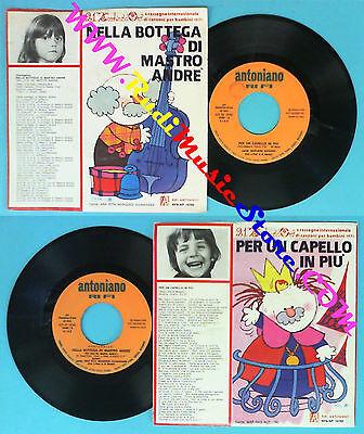 LP 45 7'' ZECCHINO D'ORO Per un capello in piu' Bottega ANTONIANO no cd mc vhs