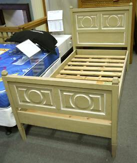 New Single Designer French Provincial Solid Timber Bed Frame Beds Richmond Yarra Area Preview