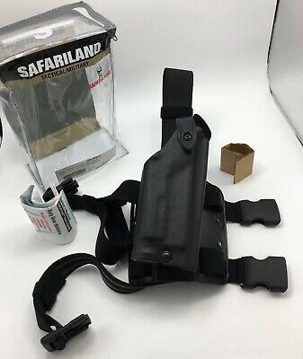 Safariland 6004 Sls Tactical Rh Leg Holster Stx Black For Glock 20 21 W Light