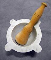 Mörser (Alabaster), Pistille (Buchenholz) aus Volterra (Toskana) Rheinland-Pfalz - Herxheim b. Landau/Pfalz Vorschau