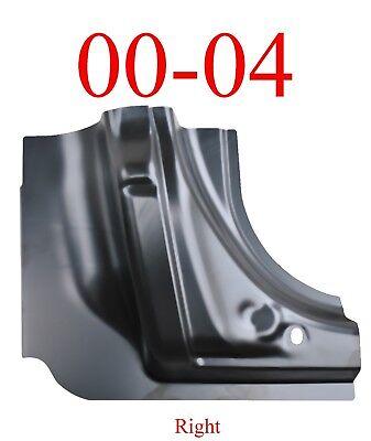 00 04 Dodge Dakota Right Quad Cab Corner Repair Panel Replacement