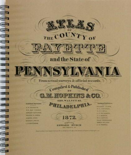 Atlas of Fayette County Pennsylvania 1872