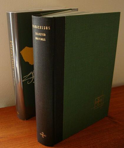 PARACELSUS by Jacobi / RARE VINTAGE HARDCOVER OCCULT ALCHEMY C.G. JUNG , BOHME