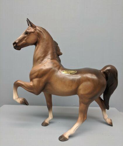 Beautiful Hagen Renaker DW Large Saddlebred Horse Honora