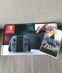 Nintendo Switch with Zelda