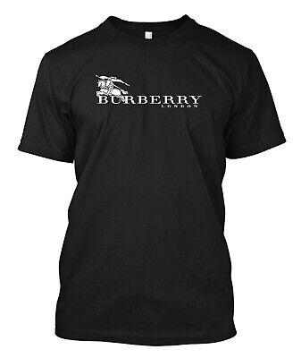 Burberry0423 T Shirt Luxury Brand Fashion Logo - Custom Men's  T-Shirt (Luxury Brands For Men)