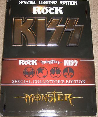 KISS SIGNED CLASSIC ROCK MAGAZINE MONSTER LTD EDITION GENE SIMMONS PAUL STANLEY
