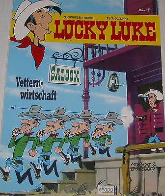 Lucky Luke!Band 21!Vetternwirtschaft!TOP ZUSTAND!!!Ungelesen!!