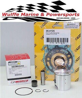 Top End Piston Kit Kawasaki KX100 '14-20 880M05250 Gaskets Bearing Rplcs PK1908