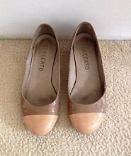 Staccato Patent Leather Ballet Flats with Kitten Heel Kogarah Area Preview
