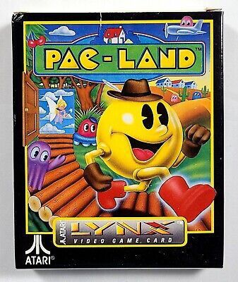 Pac-Land For Atari Lynx Handheld System  - Complete