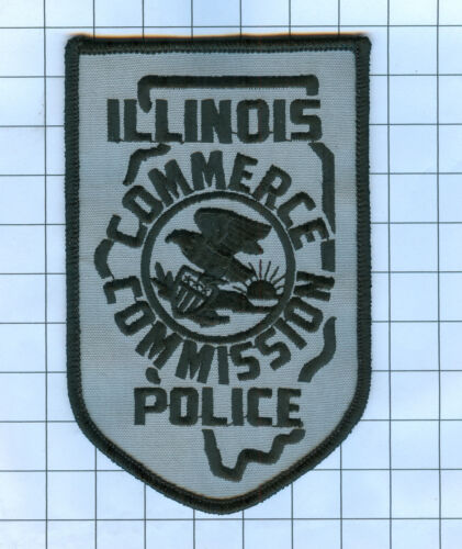 Police Patch - Illinois - COMMERCE COMMISSION