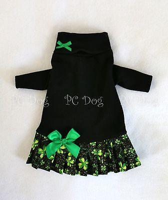 S St. Patrick's Day Turtleneck Shirt Dog Dress clothes pet Small PC Dog®](Dog St Patrick's Day Clothes)