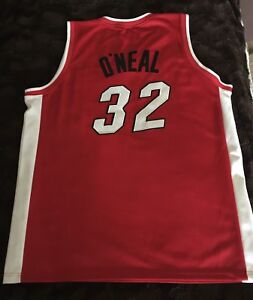 NBA Shaquille O'Neal #32 Miami Heat , Authentic
