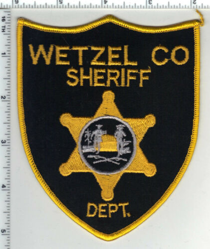 Wetzel County Sheriff Dept. (West Virginia) 1st Issue Shoulder Patch
