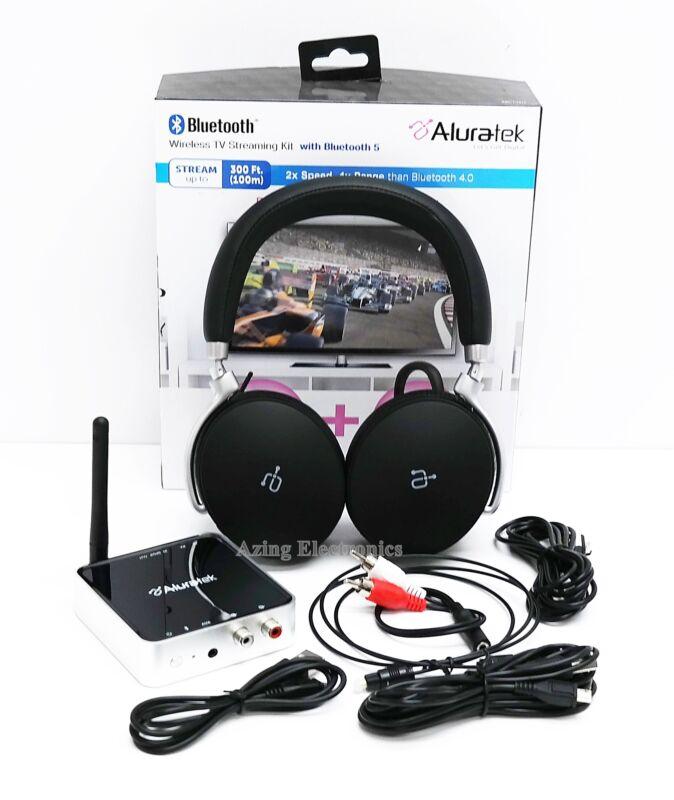 Aluratek ABCTVKIT Bluetooth Wireless TV Streaming Kit 300