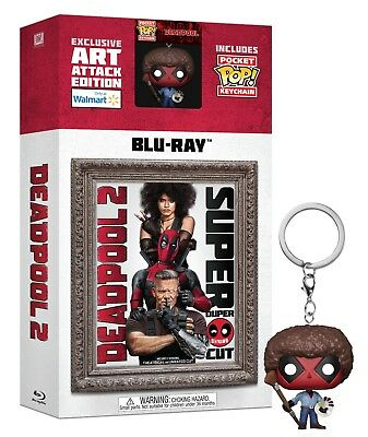 Deadpool 2  Blu Ray Disc  2018  Exclusive Keychain    Preorder  Read Description