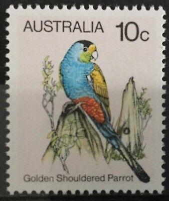 Australia 1980 10c.Golden-Shouldered-Parrot-Perf-14x14½ SG734a MNH
