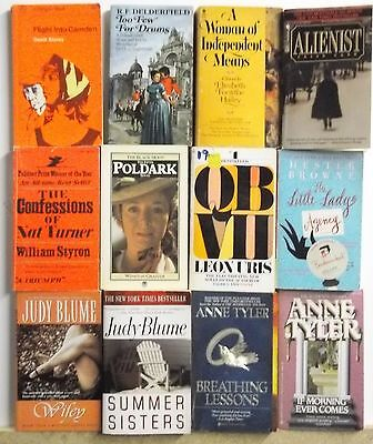 12 books POPULAR NOVELS BEST SELLERS Great Stories Lot #A541 Free US S/H