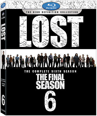 Lost The Complete Sixth 6Th Season 6 Abc Tv Show Finale Blu Ray With Slipcover