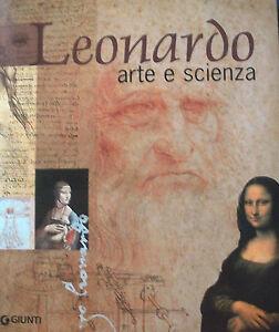 Leonardo-Arte-e-Scienza-Ed-Giunti-come-nuovo