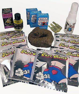 Smelly Prank Kit V2 0   Liquid Ass Stink Bomb Fart Perfume Fake Poop Joke Gag