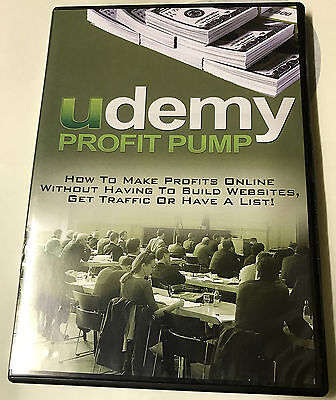 UDEMY Profit Pump Course - How to Make Profits Online Without Building a Website
