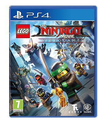 Lego The Ninjago Movie: Videogame (PS4) Brand New & Sealed UK PAL Quick Dispatch