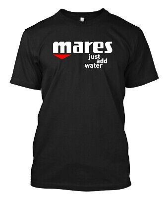 Mares Diving Equipment Suit Mask Gear Fins Logo  - Custom Men's  T-Shirt Tee ()