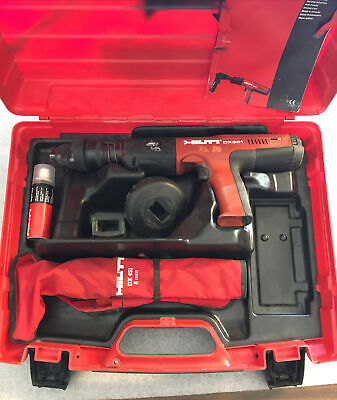 Hilti Dx 351 Fully Automatic Powder-actuated Tool Wcase We Ship International