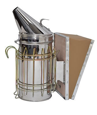 New Bee Hive Smoker Stainless Steel Wheat Shield Beekeeping Equipment From Vivo