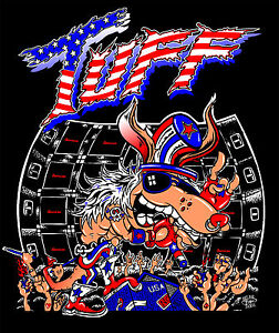 TUFF-Tour-T-Shirts-Glam-Hairband-80s-Stevie-Rachelle-Poison-Motley-Crue-Ratt