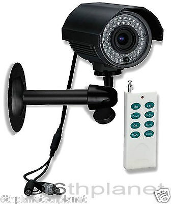 CCTV Camera Built-in Recording DVR 46 LED IR, SONY CCD Sentient N95GW Remote Ctl