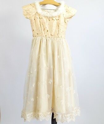 Vintage Costume Stage Play Dress Hand Made Gown Girls Dress Up