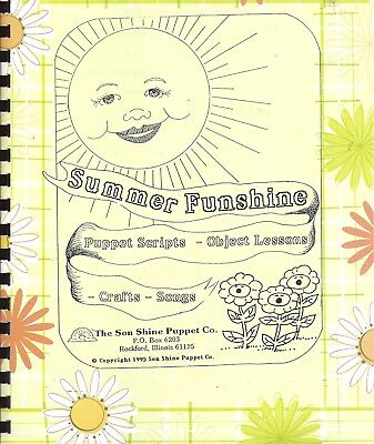 Summer Funshine Christian Idea Book for teachers, puppet ministry, crafts, skits](Summer Craft Ideas For Kids)