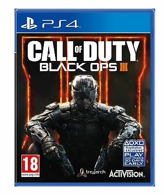 Call of Duty Black Ops III (3) (PS4) Brand New & Sealed - UK PAL