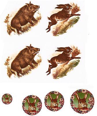 Керамическая Decals Rabbit Hare Wild Boar
