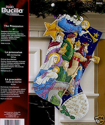 Christmas Stocking Kit (Bucilla The Procession ~ 18