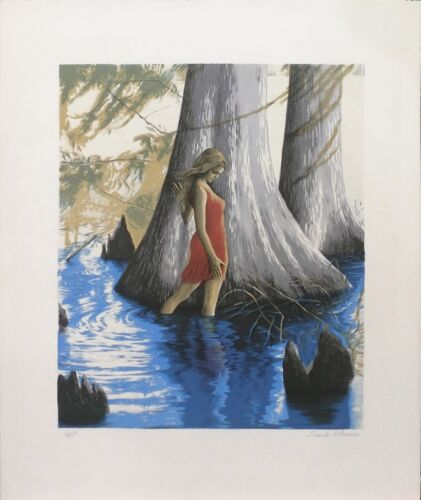 "Sandu Liberman ""at The Pond"" 