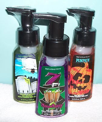 One (1) Bath & Body Works Gentle Foaming Halloween Hand Soap ](Work Halloween)