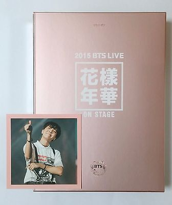 2015 BTS LIVE In The Mood For Love ON STAGE DVD,DVD PhotoBook + J-hope PhotoCard