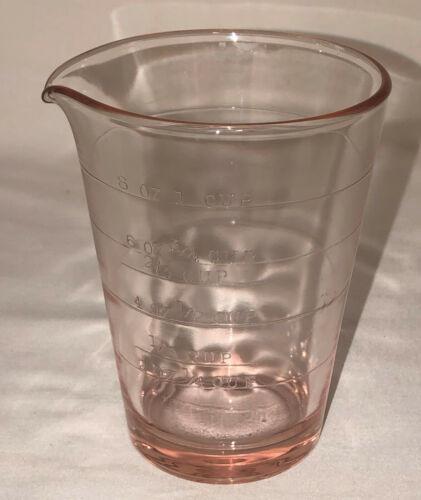 Depression Pink*1 SPOUT* 1 CUP MEASURING CUP*NO HANDLE*