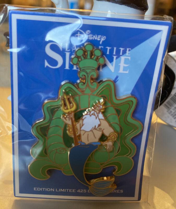 Pin  DISNEY EVENT Disneyland PARIS LITTLE MERMAID King TRITON LIMITED EDITION