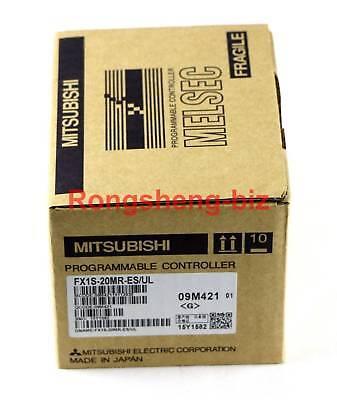 1pc Mitsubishi Fx1s-20mr-esul Fx1s20mresul Programmable Logic Controller